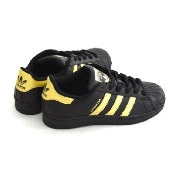 adidas SUPERSTAR NOIR/OR ADIDAS