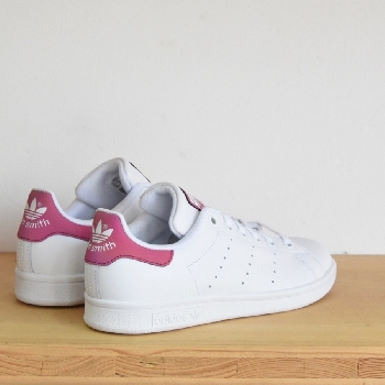 ADIDAS STAN SMITH BLANC / VIEUX ROSE ADIDAS