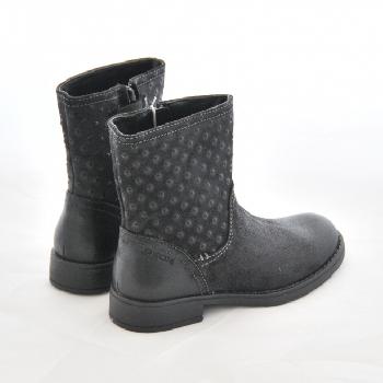 bottine g ox sofia grise bottine fille geox roquevaire marche pas pieds nus chaussures. Black Bedroom Furniture Sets. Home Design Ideas