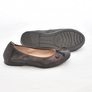 ballerine casia bronze ballerine fille unisa la ciotat marche pas pieds nus chaussures. Black Bedroom Furniture Sets. Home Design Ideas