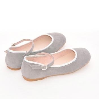 ballerine avec bride grise sandale fille unisa lavandou marche pas pieds nus chaussures. Black Bedroom Furniture Sets. Home Design Ideas