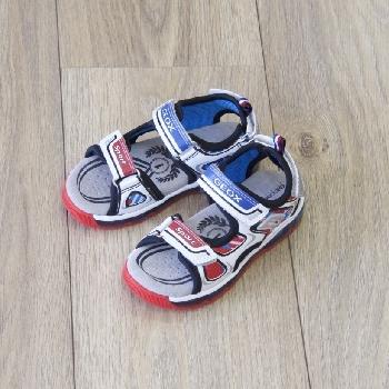 sandale android blanc multico sandale garcon geox lavandou marche pas pieds nus chaussures. Black Bedroom Furniture Sets. Home Design Ideas