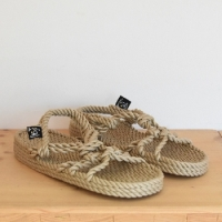 SANDALE WEDGE BEIGE NOMADIC STATE OF MIND