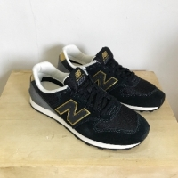 NEW BALANCE 996 NOIR/OR New Balance