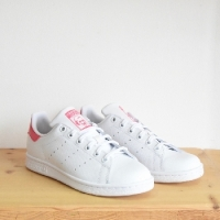 STAN SMITH BLANC /ROSE FLUO ADIDAS