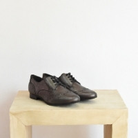 DERBY PREPPY CUIR ANTHRACITE SMS