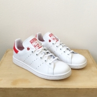 ADIDAS STAN SMITH BLANC /ROUGE ADIDAS