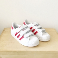 ADIDAS SUPERSTAR BLANC/ROUGE ADIDAS
